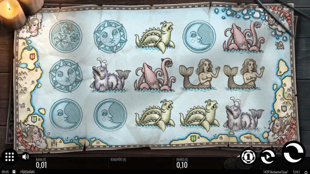 1429 Uncharted Seas slot
