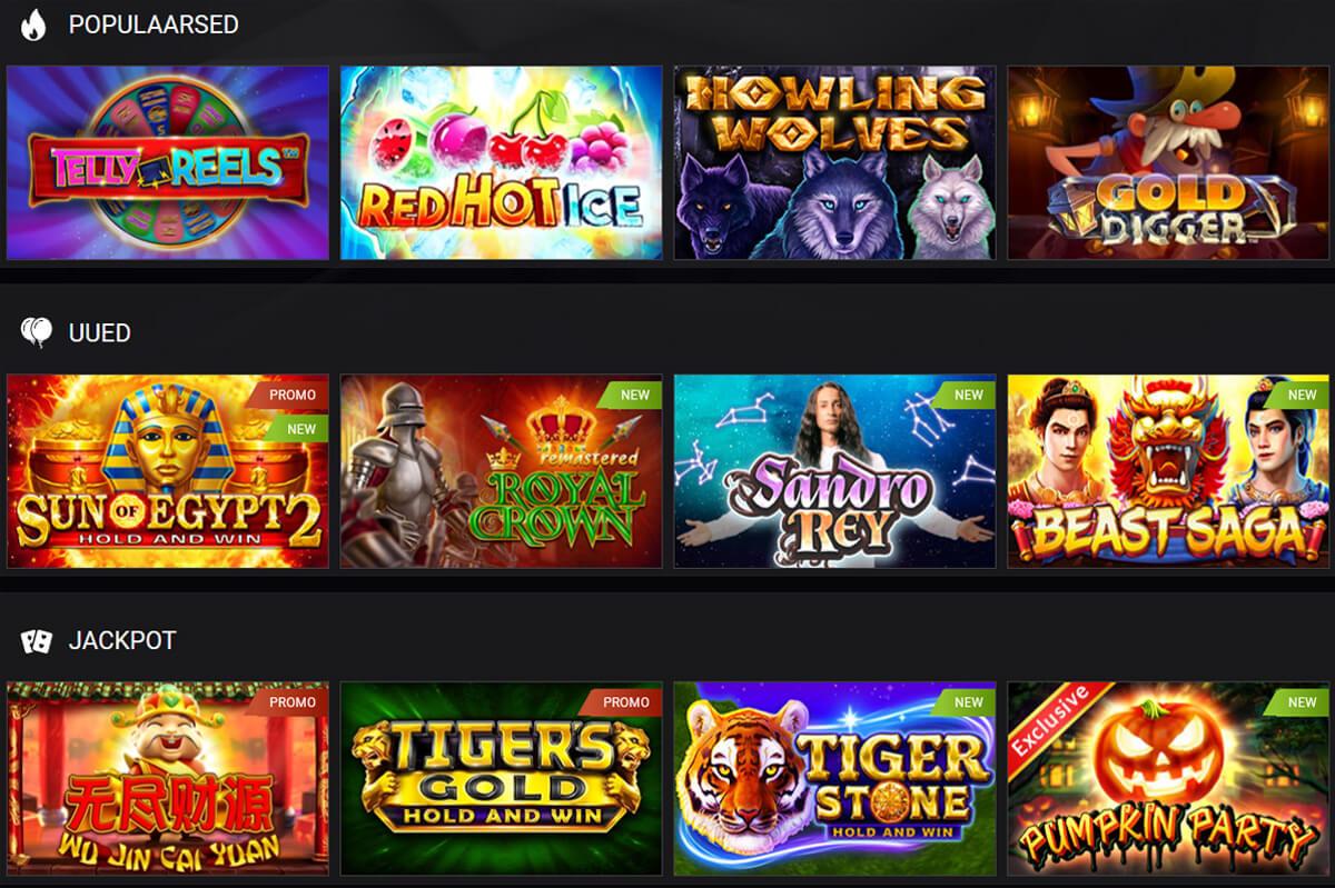 1xSlots mänguautomaadid