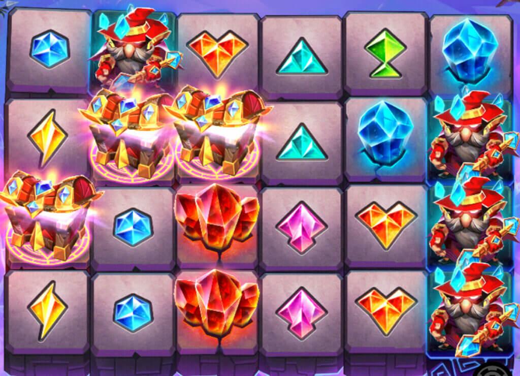 Crystal Quest: Arcane Tower kolm kirstu