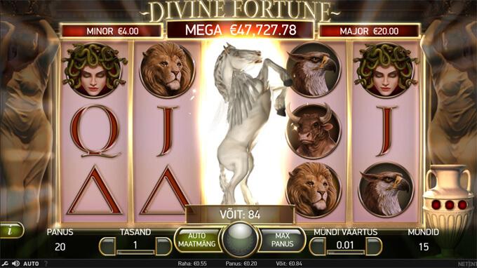 Divine Fortune Pegasus