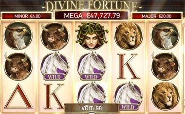 Divine Fortune asendussümbolid