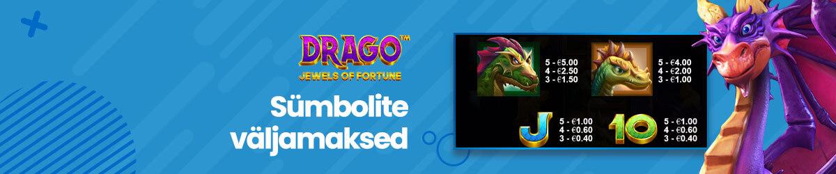 Drago sümbolite väljamaksed