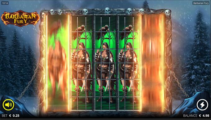 Barbarian Fury korduskeerutuse näide