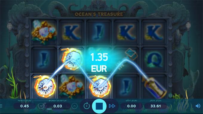 Ocean's Treasure võit
