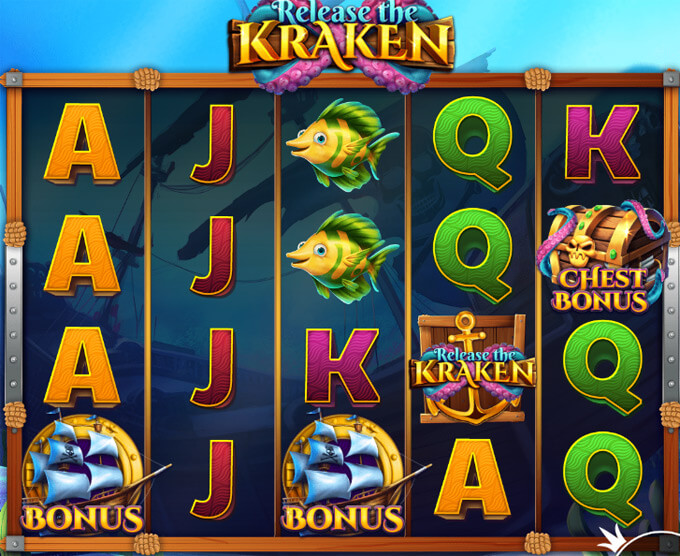 Release the Kraken Chest bonus