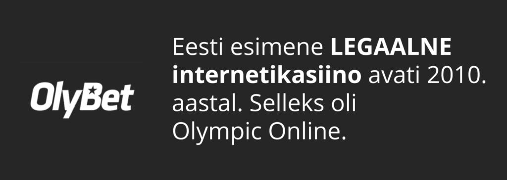 Esimene legaalne Eesti kasiino
