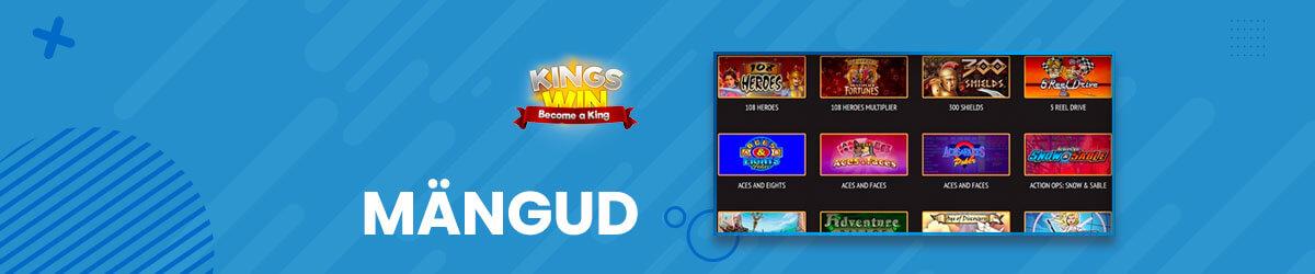 Kingswin kasiino mängud