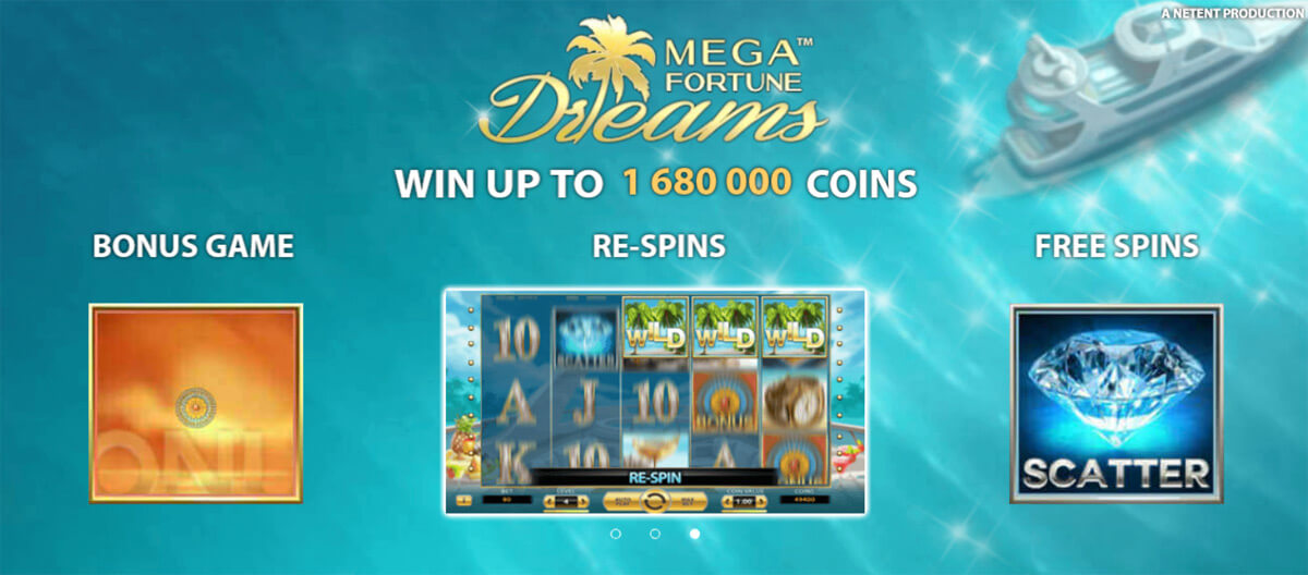 Mega Fortune Dreams laadimisaken