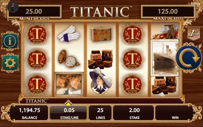 Tutvu siin Titanic videoslotiga